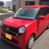 <名古屋所属のT川ドライバーさん>真っ赤なホンダN-ONEの画像