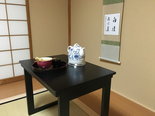 テーブル茶道 和室