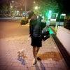 ♡夜の新宿をチワワちゃんとお散歩。。。♡の画像