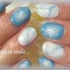 denim blue nail。。。の画像