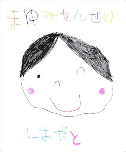 子供の絵でつくるキーホルダー