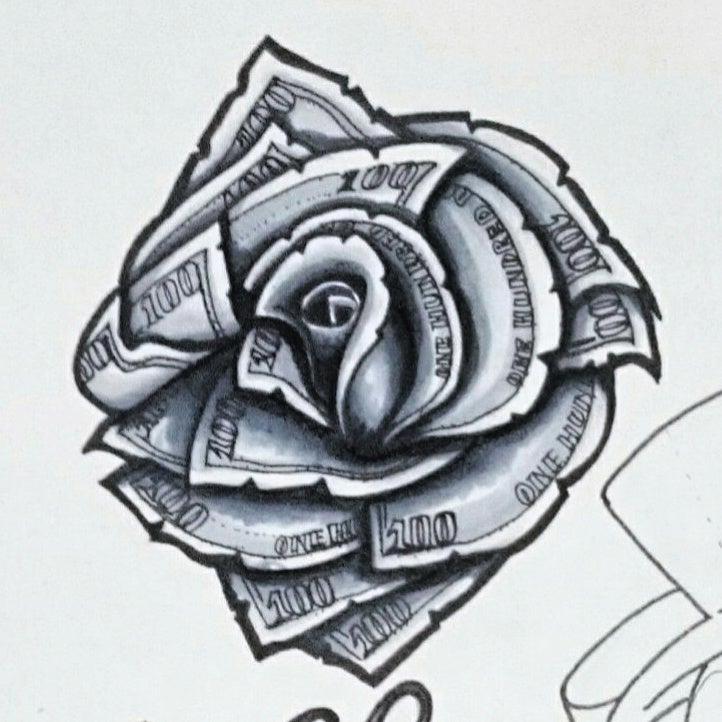 Dollar Bill Tattoo Designs