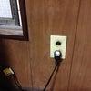 テレビコンセント増設!TV端子の無いお部屋もテレビを見れるようにする工事@新宿区早稲田の画像