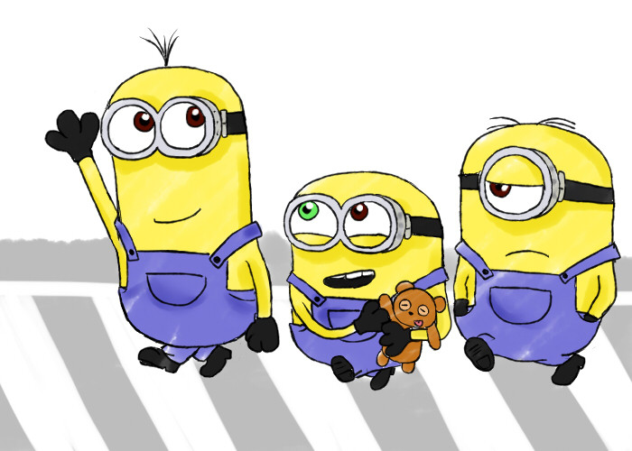 ミニオンの黄色は待ち合わせに効果あり ミニオンファンのブログ