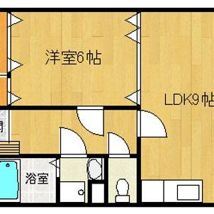 グランシャリオⅢ 302号室 1LDK 入居者募集中の画像