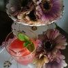 ローズヒップティーのオレンジジュース割りの画像