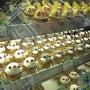 鳥のケーキがいっぱい…