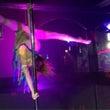 泉大津でポールダンス…