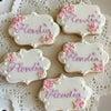 ロゴ入りアイシングクッキーの画像