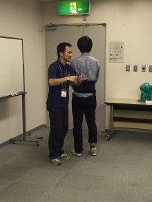 浅井先生による測定のデモンストレーション