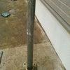 コンクリート土間面に超撥水処理の画像
