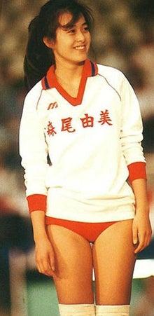 森尾由美さんのショートパンツ姿