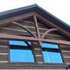 ログハウスのトラス修理2の画像