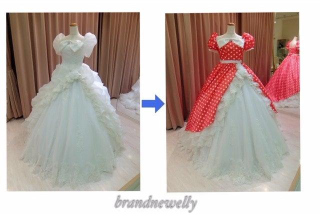 db2417172b928 紫が大好きな花嫁様は、刺繍たっぷりの七分袖オーバーカラードレスをウエディングドレスの上から着るだけで大変身!!大人披露宴❤