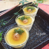 ひんやり さっぱり!梅の冷製茶碗蒸し♪の画像