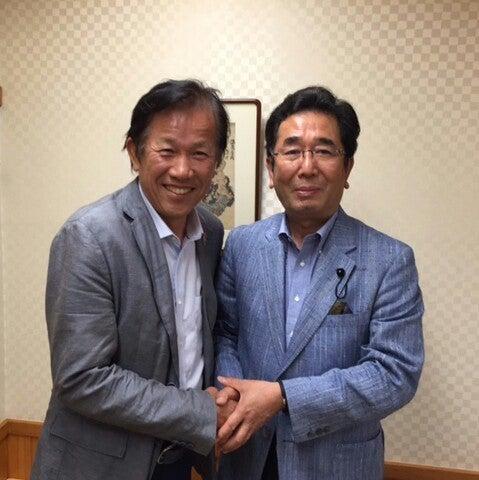 元プロ野球選手、谷沢建一さんと。 | 島田のりあきのブログ