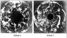 北極の大穴 エッサ7号、3号が撮影