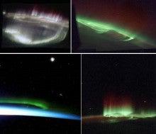 南極の光る大穴