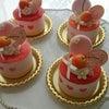 さくらんぼのムースケーキの画像
