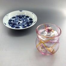 苺皿とキャンディポット