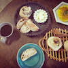 お気に入りで朝食タイムの画像