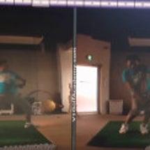ゴルフの体重移動(重…
