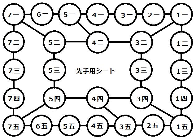ポケコマ白図 - 先手個別番号入れ2