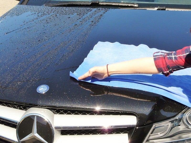 洗車機を使った後の水滴拭き上げに最適!ウォータースポットや洗車傷を防止する洗車用大判クロス! | 洗車とコーティングと私/洗車用品 車用コーティング剤 ならハイブリッドナノガラス
