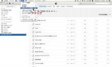 iTunes表示オプションを表示をクリック