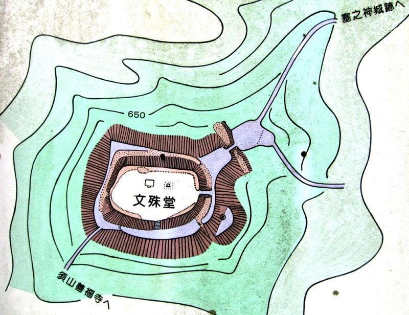 文殊山城④