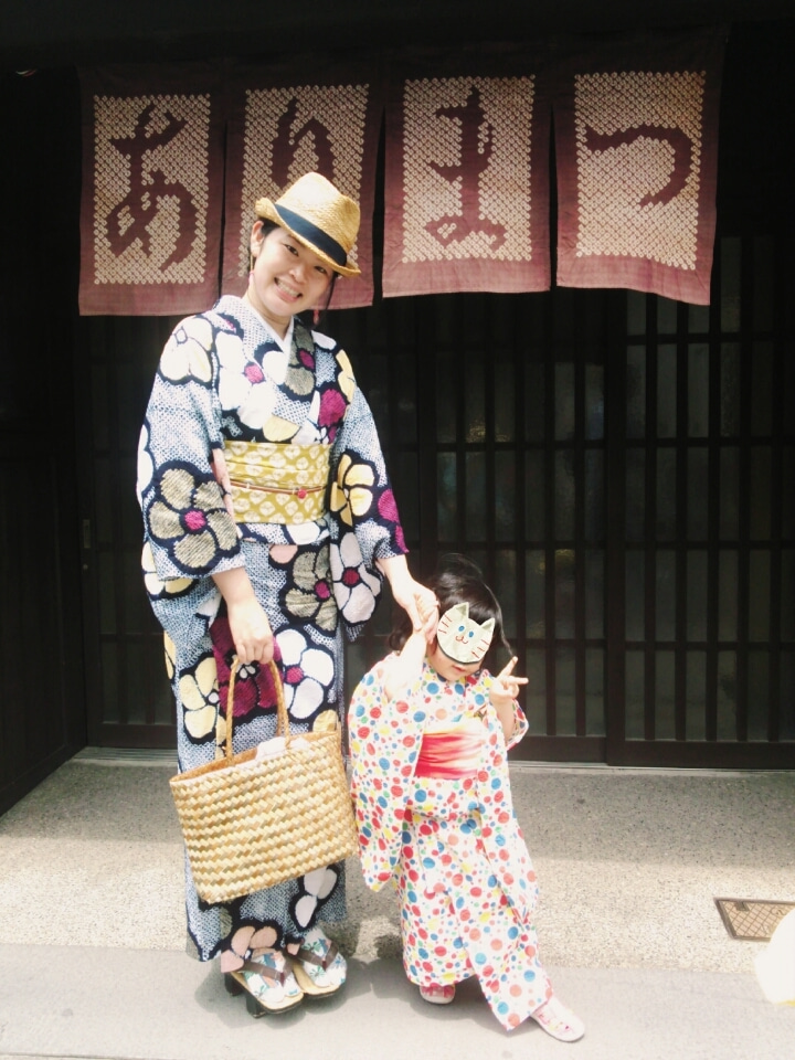 絞り浴衣×絞り帯*有松絞り祭りコーデ   愛知県刈谷市の着付け ...