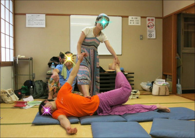 『教え合う練習会』タイ古式マッサージ委員会 7