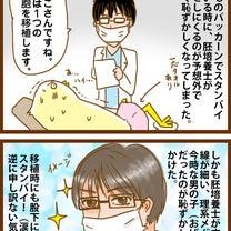 移植当日!珍事と胚培養士さんの記事に添付されている画像