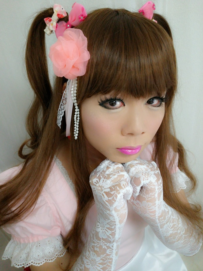 女装子 百合子 しょこたんたんちゃん凄腕女装メイクピッタンコ当て!東京の女装サロン型女装化粧品ハイクオリティ