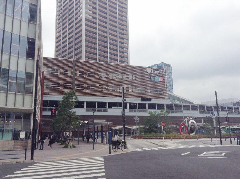 神奈川県川崎市の武蔵小杉駅へ出張工事