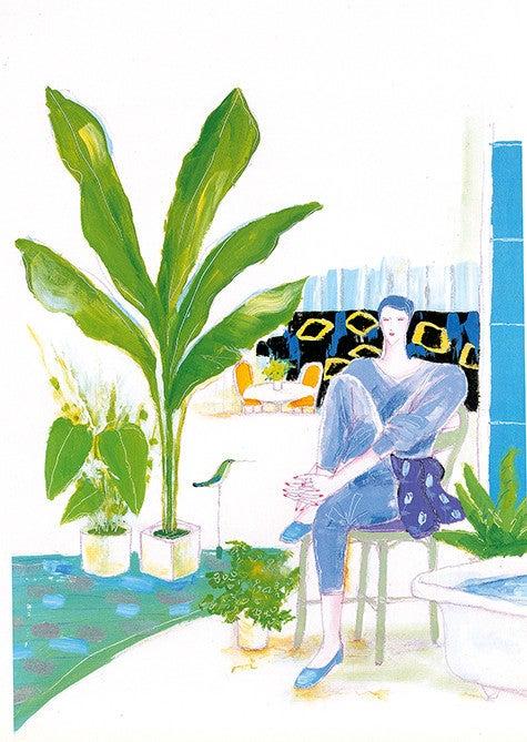 90年代イラストのお仕事 その2 現代版画 舟