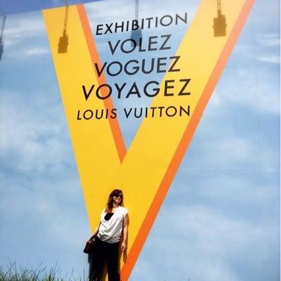 旅するルイ・ヴィトン展の記事に添付されている画像