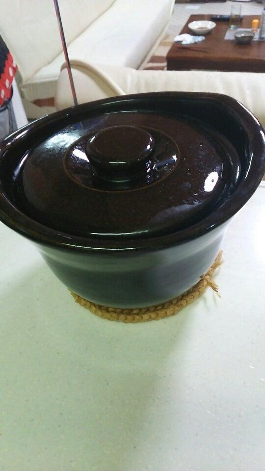 こいつは最近❗女房の奴がハマっている「土鍋炊飯器」無印良品で購入した優れもの❗