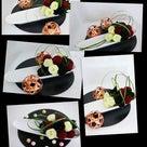 ●和モダンとは!?リーフでお花作りも!沢山の技術が詰まったレッスン♪<ディッシュアレンジ>の記事より