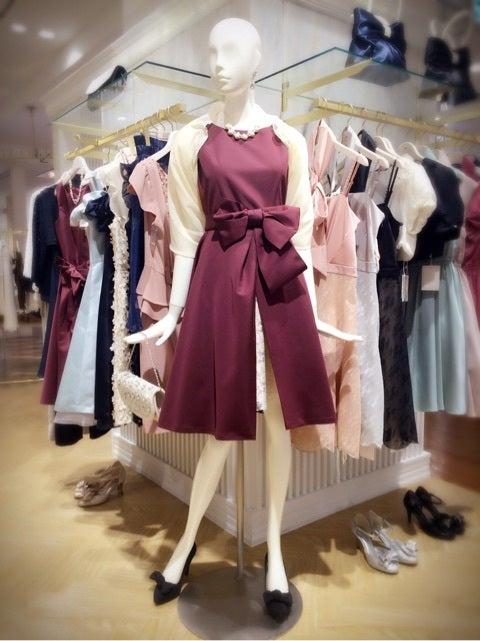 オーバースカート付きドレス♡