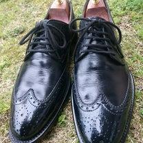 ジャンカルロモレリ  黒靴に茶色クリーム!!の記事に添付されている画像
