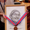 昨日の帝国Hでの授賞式、下は文部科学大臣賞の秋 竜山さん。の画像