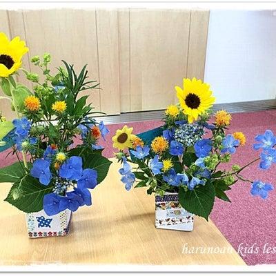 キッズレッスン【2歳からのこどもお花遊び】の記事に添付されている画像