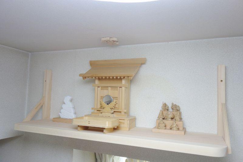 稲荷神&七福神&蛇神を祀る神棚板