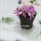 ●一番乗りで仏花の体験レッスンにお越しくださいました♪<プリザーブドフラワー仏花体験レッスン>の記事より