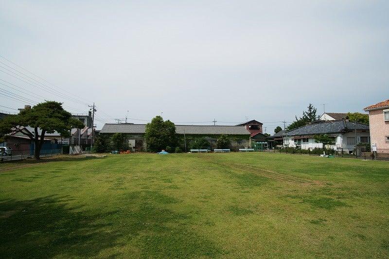 埼玉県繊維工業試験場跡地は芝生公園に 行田市