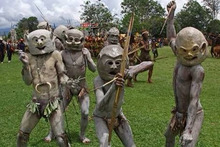 ニューギニア泥人