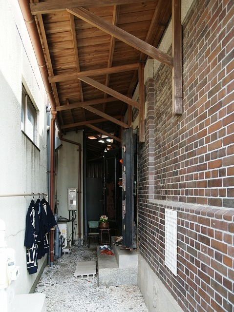 レンガ造りの大澤蔵 行田市
