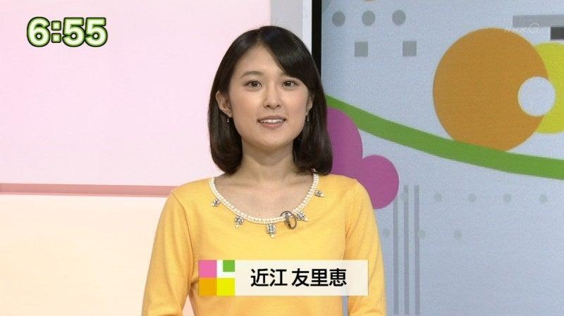 近江 アナウンサー nhk