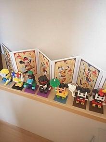香港ディズニーナノブロック